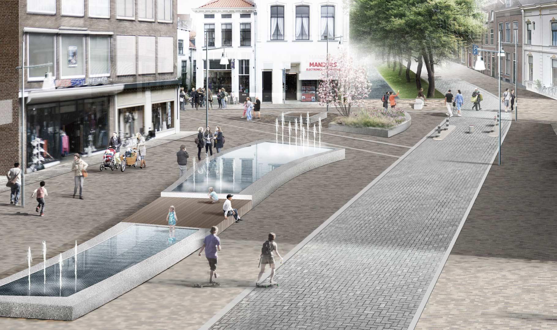 Opening Stadsdiagonaal in Zutphen