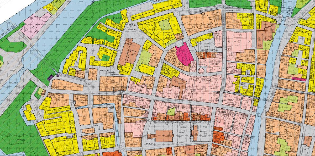 SAB bestemmingsplan binnenstad Gorinchem