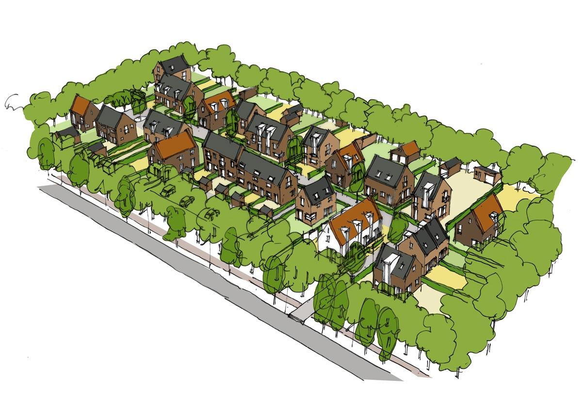 SAB Oosterveld Norg stedenbouwkundig plan