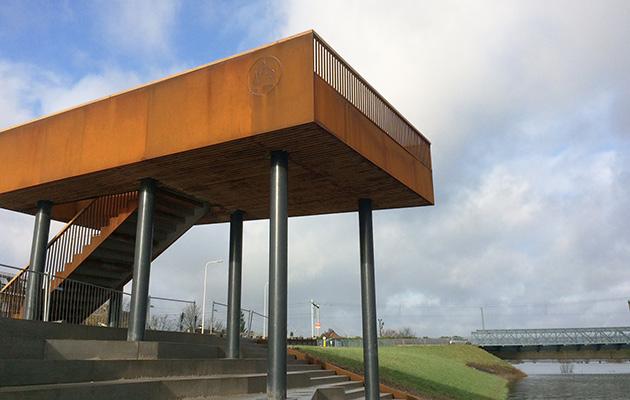SAB stadsbalkon Tichelbeeksewaard Zutphen