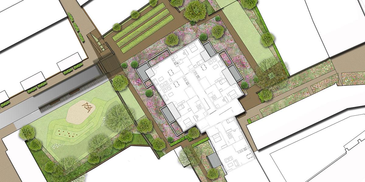 Inrichtingsplan Gasthuishofje Doesburg