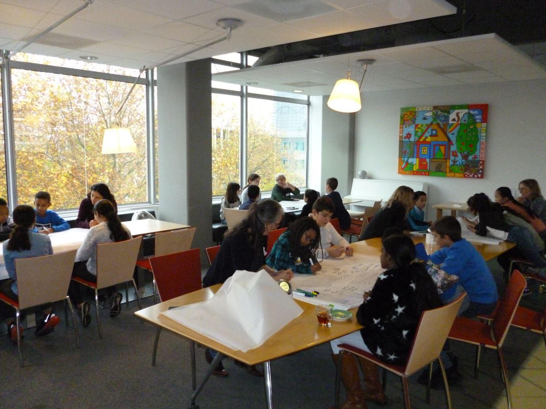 leuk om te leren workshop voor kinderen