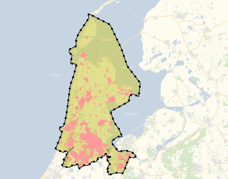 Provinciale ruimtelijke verordening bestaand bebouwd gebied