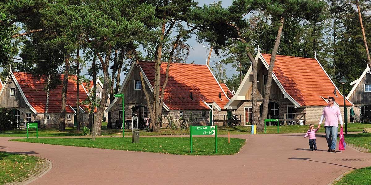 Ontwerp vakantiepark Hellendoornsche Berg