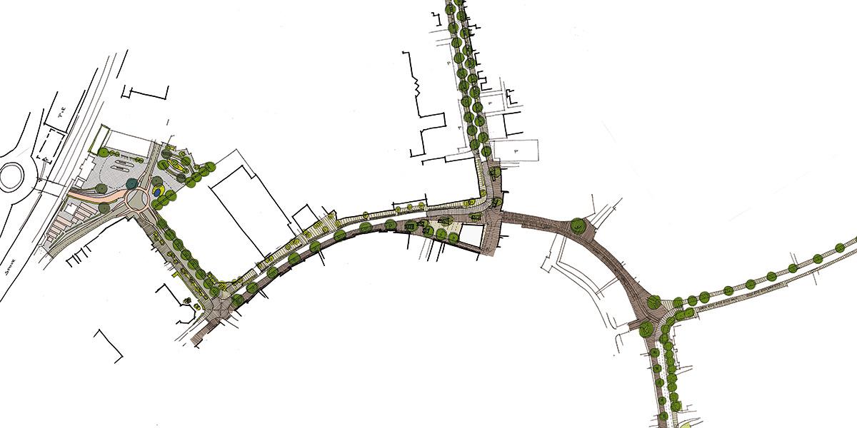 Herinrichting openbare ruimte centrumring Rijssen