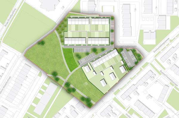 Stedenbouwkundig plan Dorrestijnplantsoen Heelsum