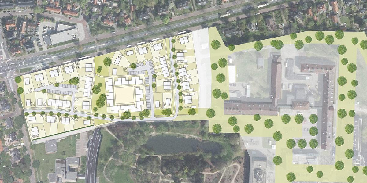 Stedenbouwkundig plan De Dreijen Wageningen